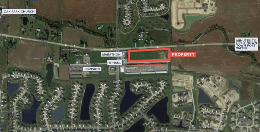 Rapidly Growing Sw Commercial Land 14301 Illinois Rd